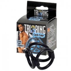 Tri Ring Cock Cage