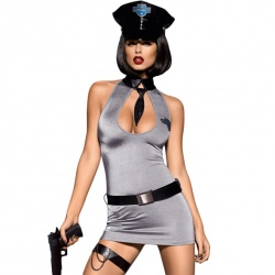Obsessive - Police Dress Costume S/M