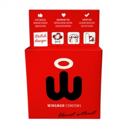 Wingman Condoms 3 Pieces
