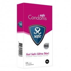 Safe - Feel Safe Condoms Ultra-Thin 10 pcs