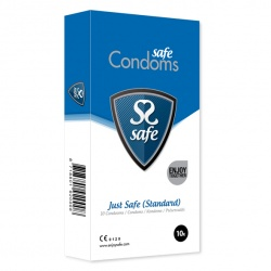 Safe - Just Safe Condoms Standard 10 pcs