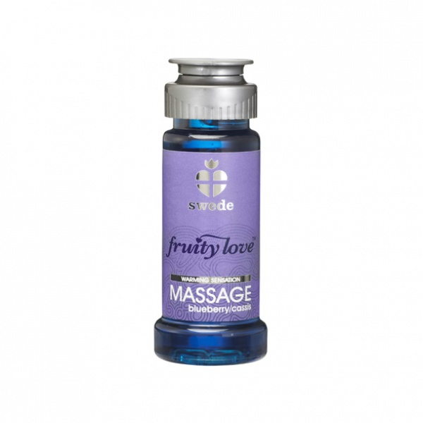 Swede - Fruity Love Massage Blueberry/Cassis 50 ml