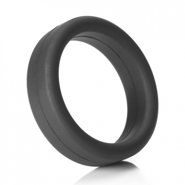Tantus - Super Soft C-Ring Black